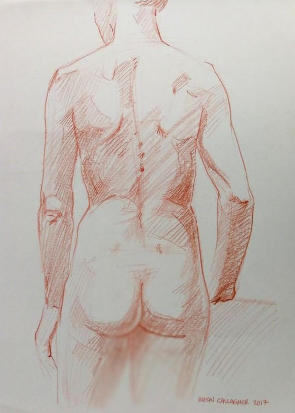 Brian+Gallagher+-+_Life+Study+III_+conte_+40x29cm